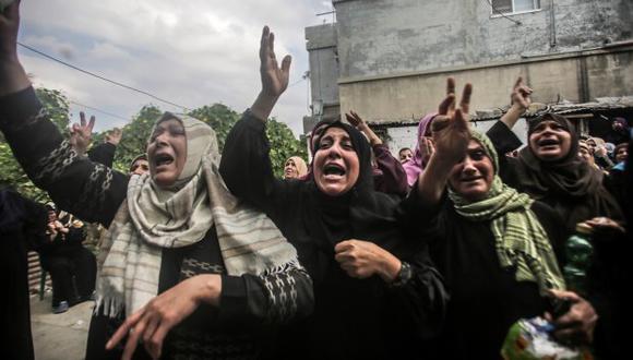 El movimiento islamista Hamás pidió intensificar las protestas de hoy, después de que en las del pasado viernes murieran siete palestinos. (Foto referencial: EFE)