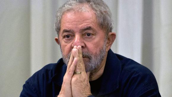 Lula da Silva cumple una condena de 12 años por corrupción. (Foto: AFP)