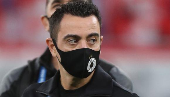 Xavi Hernández renovó contrato con Al Sadd hasta el 2023. (Foto: AFP)