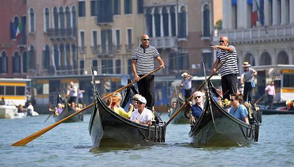 Unos 25 millones de turistas llegan a Venecia cada año. (Foto: AFP)