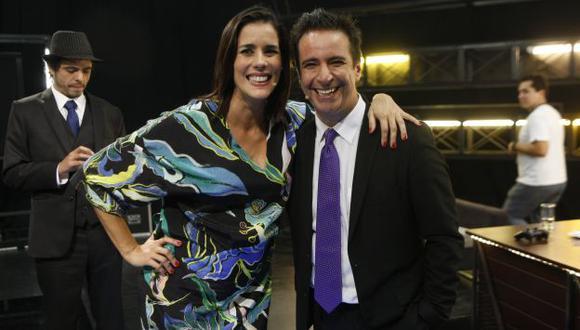 Carlos Carlín y Gianella Neyra protagonizarán la película 'Locos de amor'. (Luis Gonzales)