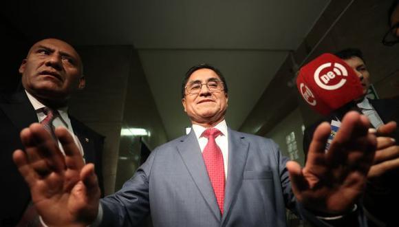 El juez César Hinostroza está implicado en los audios de la vergüenza. (Perú21)