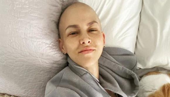 """Anahí de Cárdenas se somete a nueva quimioterapia y asegura que """"solo falta una más"""". (Foto: Instagram)"""
