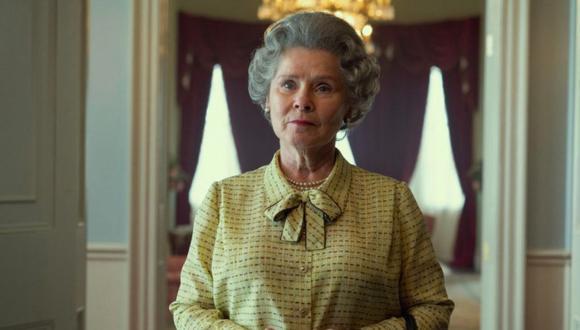 """Imelda Staunton será la tercera versión de la Reina Isabel II en la polémica serie """"The Crown"""". (Foto: Instagram @thecrownnetflix)"""