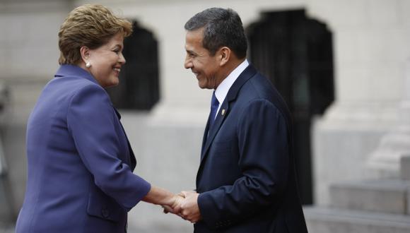 LA COPIA. Humala busca traer al Perú la política social de Brasil. (Luis Gonzales)