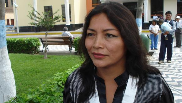 Lita Román teme por su vida. (Gobierno Regional de Lima)