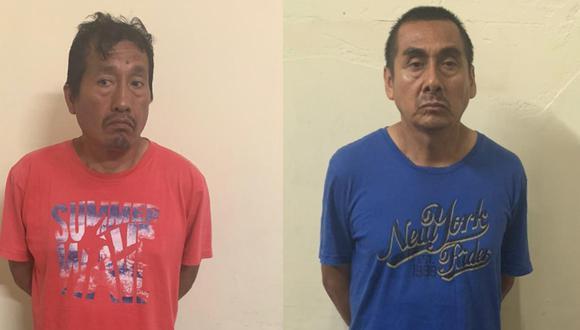 PNP intervino en flagrancia a dos integrantes del Movadef en Comas. (PNP)