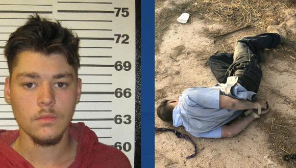 Brandon Soules indicó entonces a la Policía que dos hombres enmascarados lo habían secuestrado, pero todo era falso. (Foto: Policía de Coolidge)