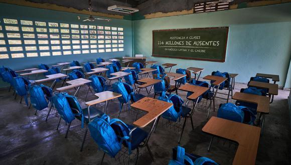 """""""En ningún otro lugar del mundo hay tantos niños sin educación presencial"""", dijo Jean Gough, Directora Regional de UNICEF para América Latina y el Caribe. (Foto: Unicef)"""