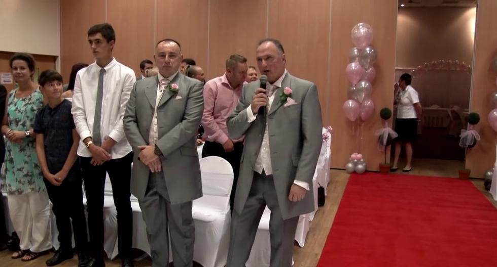 (Crédito: Wedding Videos Northamptonshire en Facebook)