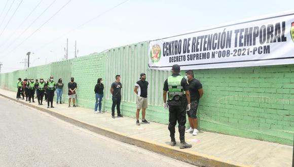 Centros de retención temporal estarán a cargo de la Policía Nacional del Perú en coordinación con los gobiernos locales y regionales. (Foto: Mininter)