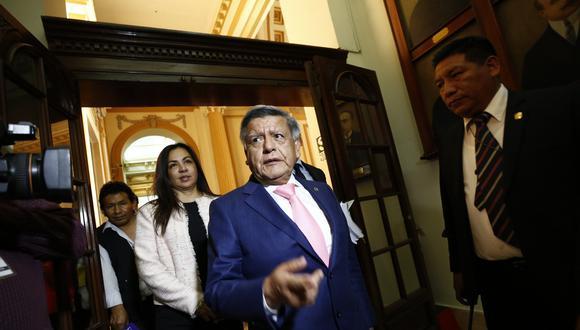 Líder de APP salió bien librado de dos procesos judiciales.