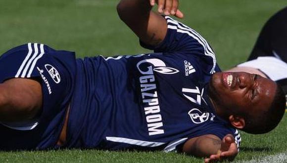 Farfán sufrió en carne propia los ejercicios. (Diario Bild)