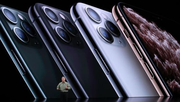 Los nuevos teléfonos inteligentes de Apple podrán pedirse online a partir de este mismo viernes y llegarán a las tiendas el 20 de septiembre. (Foto: AFP)