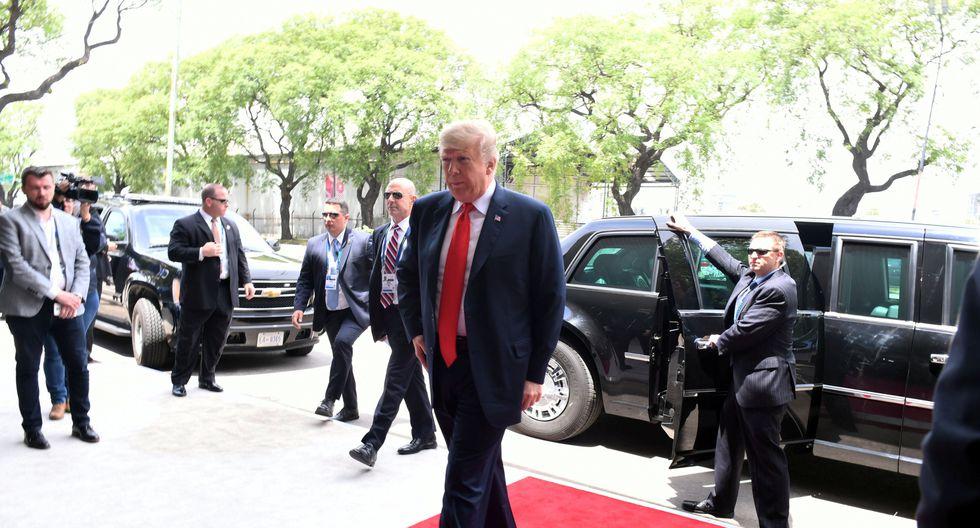Donald Trump es el centro de la cumbre G20, en Argentina. (Foto: Reuters)