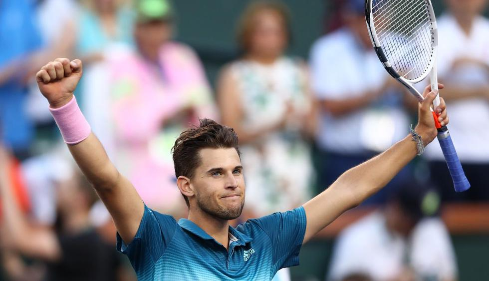 Es el primer título Masters 1000 para Thiem, que disputaba su primera final en Indian Wells. (Foto: AFP)