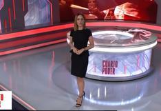 """Mávila Huertas se presenta como la nueva conductora de """"Cuarto Poder"""" [VIDEO]"""