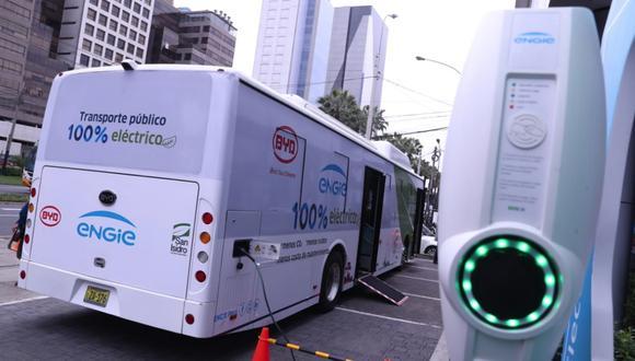 La Asociación Automotriz del Perú indica que es necesario los buses eléctricos para reducir la contaminación. (FOTO: GEC)