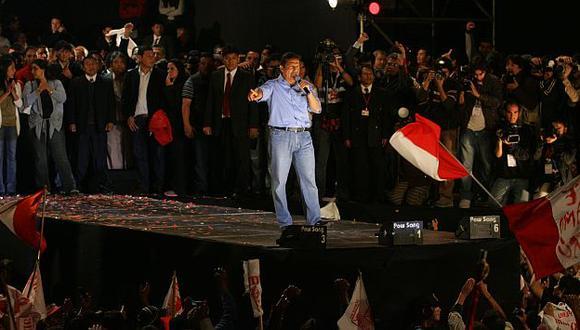 La campaña electoral que llevó al poder a Ollanta Humala bajo la lupa. (USI)