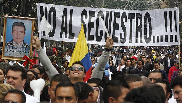 Gracias a las gestiones de Piedad Córdova, las FARC van liberando más de 20 rehenes desde 2008. (AP)