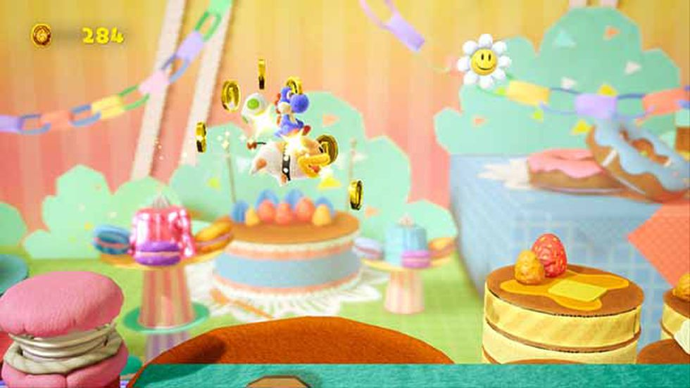 Yoshi's Crafted World ya se encuentra disponible para Nintendo Switch en el Perú.