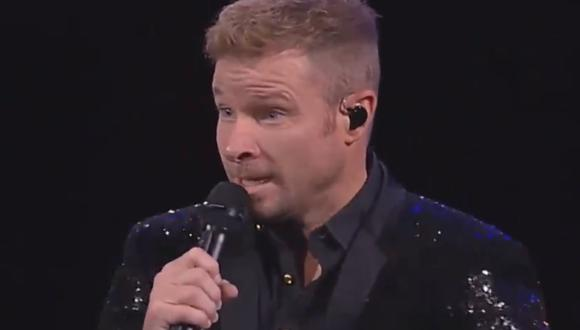Brian Littrell actualmente tiene 44 años y en el 2011 sufrió una grave complicación en las cuerdas vocales. (Captura de televisión)