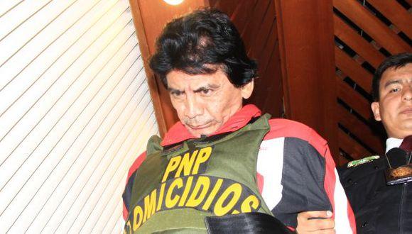 Valdivia está en la carceleta de Palacio de Justicia y después será trasladado a un penal capitalino. (USI/Roberto Ángeles)