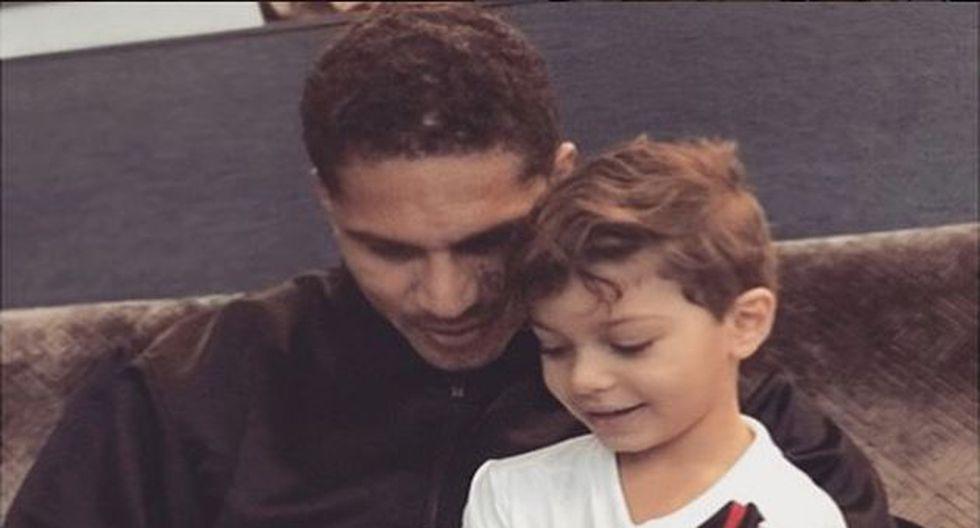 A pesar de que no vive en el mismo país que el pequeño Alessio. Guerrero siempre ha demostrado su cariño por él. (Instagram/@guerrero9)