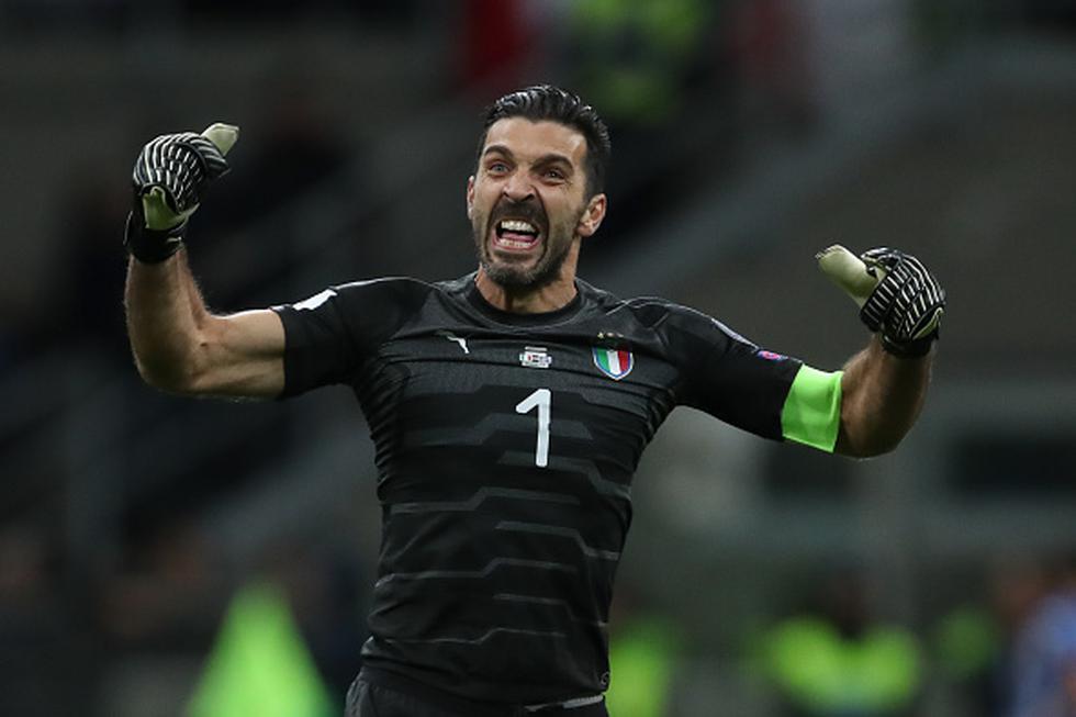 Gianluigi Buffon no podrá asistir a su 6to Mundial consecutivo e Italia se perderá del torneo después de 60 años. (Getty Images)