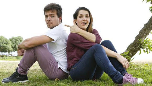 Una bendición. Yiddá Eslava y Julián Zucchi felices por convertirse en padres. (USI)