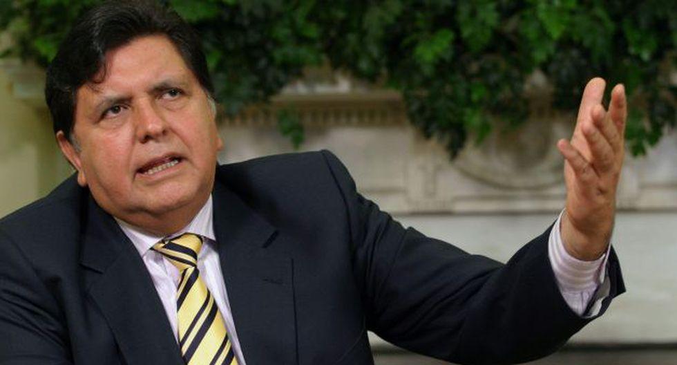 Alan García critica al Gobierno por tímida cifra de reducción de pobreza. (USI)