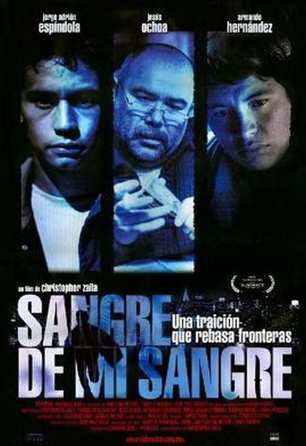 """""""Blood of my blood"""" poster in Spanish """"Sangre de Mi Sangre"""" (Foto: Cinergy Pictures / Panamax Films / Two Lane Pictures)"""