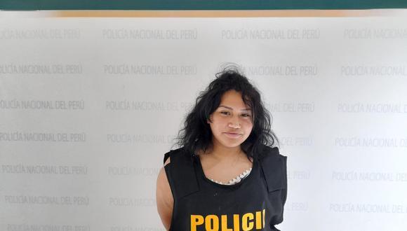 Mayra Aucayari, hija de uno de los criminales más peligroso que tuvo el país, 'Cholo Jacinto', fue detenida por agentes de la División de Investigación de Estafas de la Dirincri.