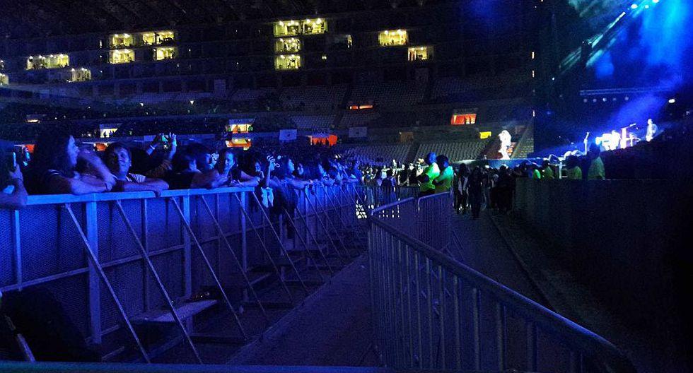 Justin Bieber se presenta esta noche en el Estadio Nacional. (Jimena Hernández)