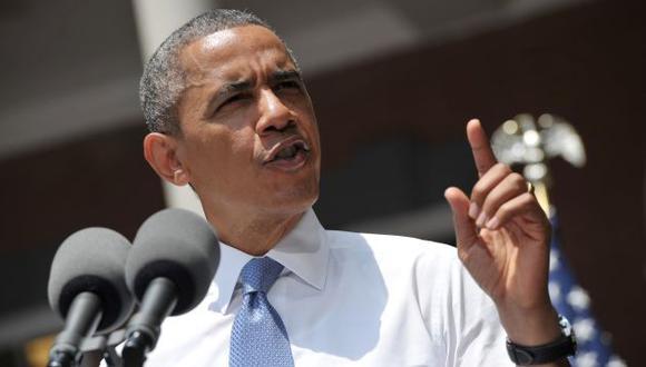 Obama describió el 2012 como el año más caluroso en la historia. (AFP)