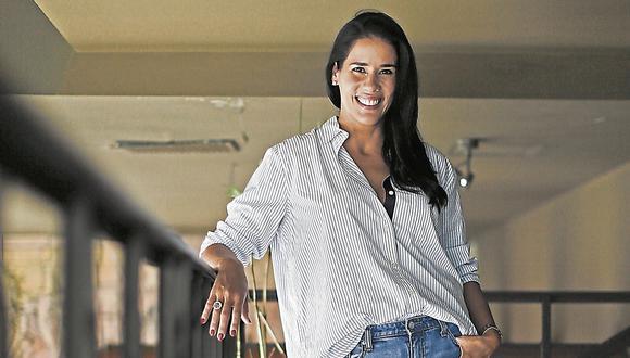 Gianella Neyra. Actriz peruana de cine, televisión y teatro. (USI)
