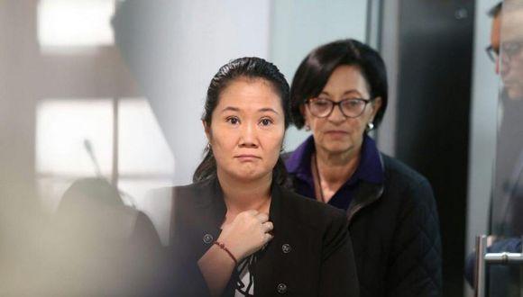 Keiko Fujimori cumple 36 meses de prisión preventiva desde noviembre del año pasado por el presunto delito de lavado de activos. (Foto: GEC)