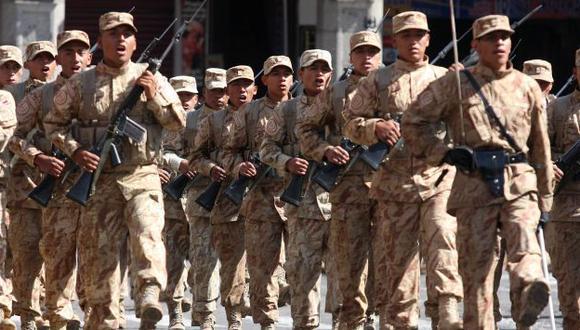 NO SE OLVIDAN. El Ejército se acuerda del último cuartel de Humala. (Heiner Aparicio)