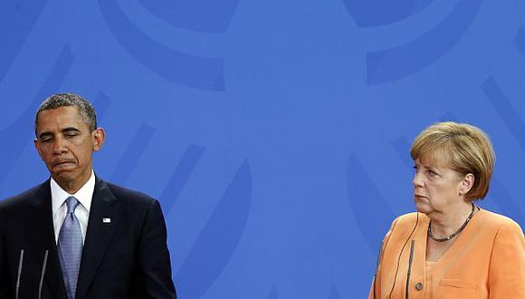 Tensas relaciones entre Alemania y Estados Unidos por escándalo de espionaje. (Reuters)