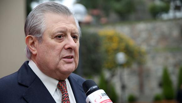 Óscar Maúrtua fue ministro de Relaciones Exteriores entre el 2005 y 2006, durante el gobierno de Alejandro Toledo. (Foto: Andina)