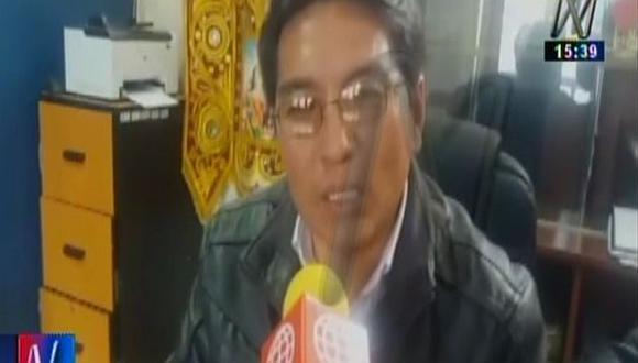 Alcalde de Chinchero exigió que se denuncie a los responsables de irregularidades en proyecto. (Canal N)