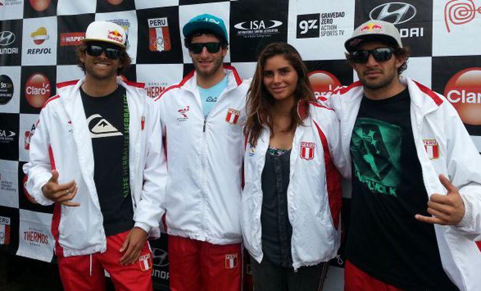 Equipo peruano de surf ganó medalla de oro. (Renzo Norvani)