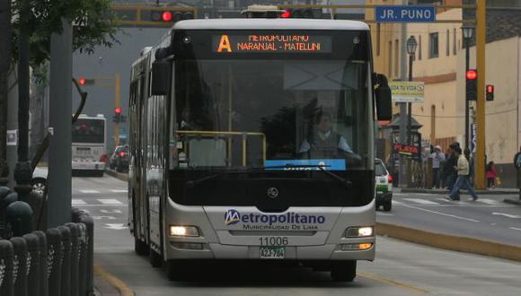 TOMAR PREVISIONES. Mañana no funcionarán buses 'Expreso'. (Perú21)