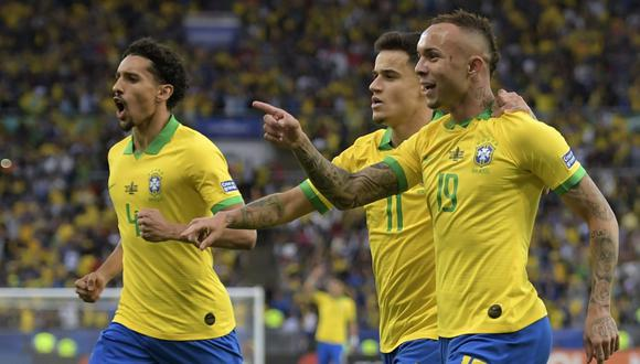 Brasil choca contra Corea del Sur tras perder por la mínima ante Argentina. (Foto: AFP)