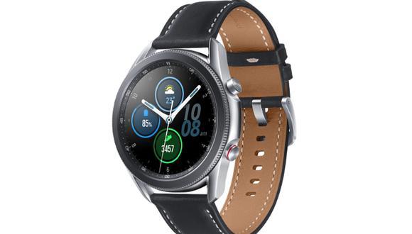 El Samsung Galaxy Watch 3 detecta caídas y mide la saturación de oxígeno en sangre. (Foto: Samsung)