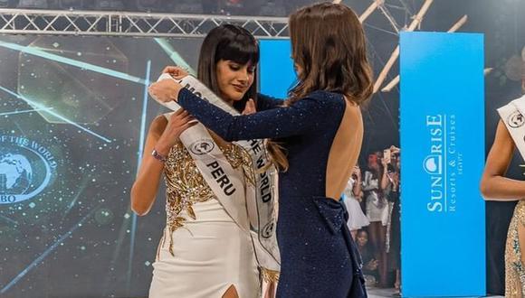 Miss Top Model of the World: Pierinna Patiño se alzó con la corona del certamen. (Foto: @wbotopmodel)