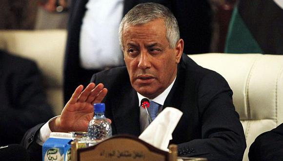 Premier libio Ali Zeidan fue secuestrado por exrebeldes que dependen de Ministerio del Interior. (Reuters)