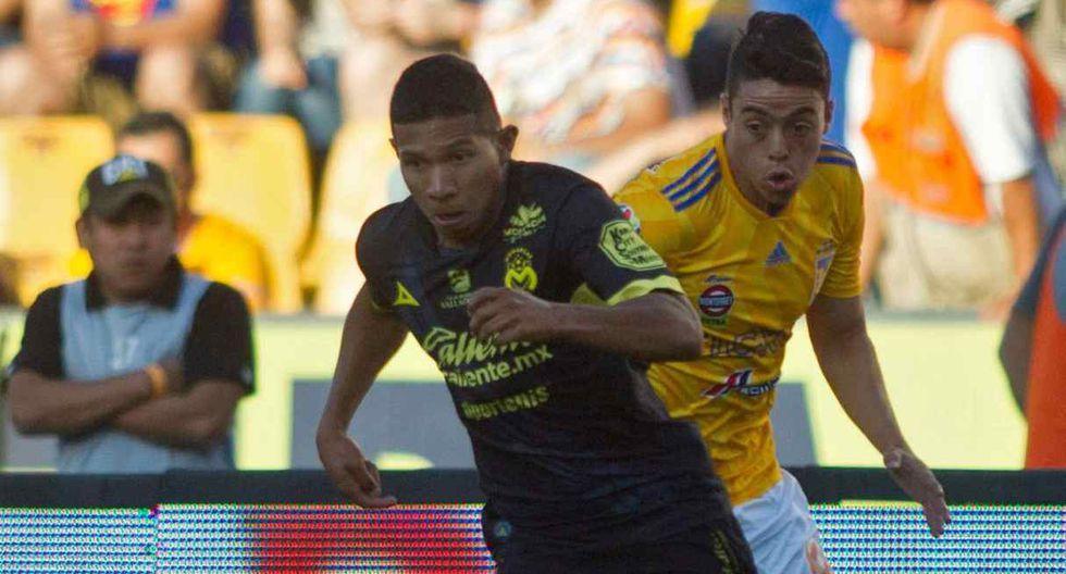 Edison Flores firmó por Monarcas Morelia en agosto del 2018. (Foto: AFP)
