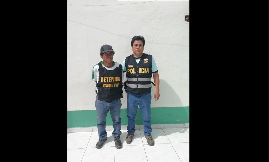 'Colombo' fue capturado hoy al mediodía en la provincia de Huamanga (Ayacucho)