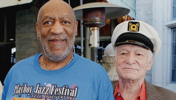 Mujer afirmó que Hugh Hefner le presentó a Bill Cosby en el 2008. (USI)